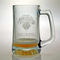 Personalized NBA Basketball Glassware & Barware