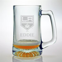 Personalized NHL Hockey Glassware & Barware