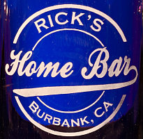Personalized Home Bar Glassware & Barware