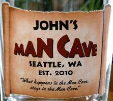 Man Cave Glassware