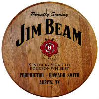 Personalized Licensed Barrel Head Signs