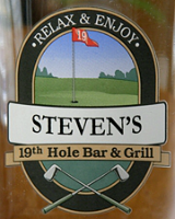 Golf Barware & Glassware