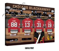 Personalized NHL Hockey Locker Room Signs