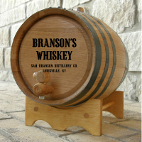 Groomsmen Gifts - Mini Oak Barrels