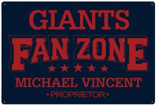Fan Zone Signs