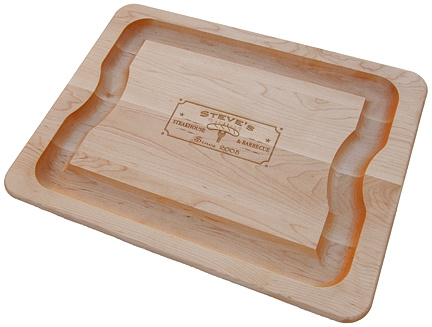 Personalized Steakhouse & Barbecue Cutting Board
