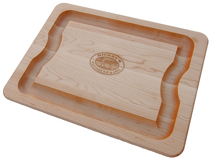 Personalized Wild Game Bar & Grill Cutting Board