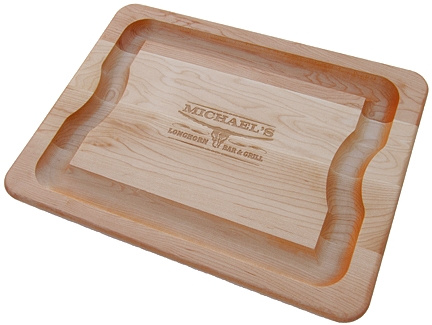 Personalized Longhorn Bar & Grill Cutting Board