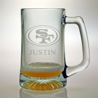 Personalized NFL Football Tankard Mug