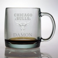 Personalized NBA Basketball Coffee Mug