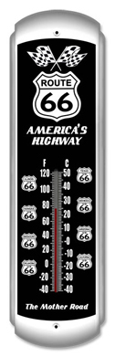 Route 66 Metal Thermometer