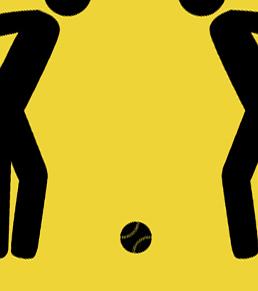 Men Watching Baseball Caution Metal Sign - close up of baseball