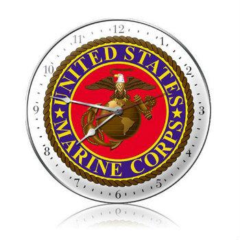 Marines Clock