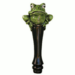 Frog Beer Tap Handle