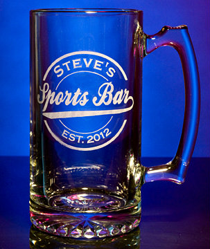 Personalized Sports Bar Tankard Mug - Extra Large
