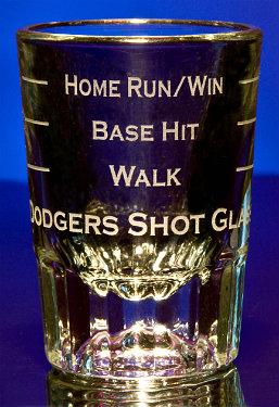 Personalized Baseball Sports Game Shot Glasses