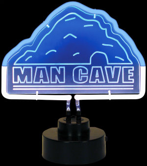 Man Cave Neon Sculpture