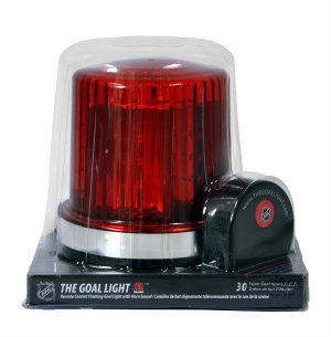 The Original Goal Light - NHL Licensed Hockey Goal Light Bottom of Light retail packaging