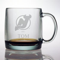 Personalized NHL Hockey Coffee Mug