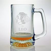 Personalized NHL Hockey Tankard Mug