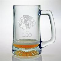 Personalized NHL Hockey Tankard Mug