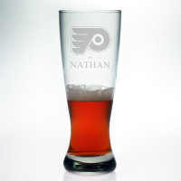 Personalized NHL Hockey Grand Pilsner Glass