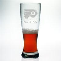 Personalized NHL Hockey Grand Pilsner Glass