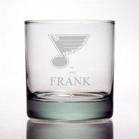 Personalized NHL Hockey Rocks Glass