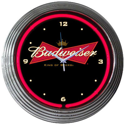 Budweiser Neon Clock
