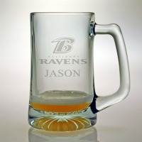 Personalized NFL Football Tankard Mug - Extra Large