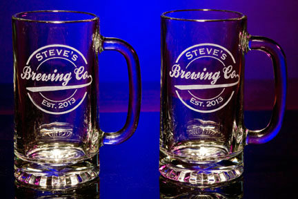 Personalized Brewing Company Tankard Mugs