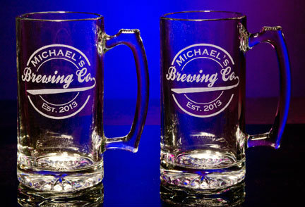 Personalized Brewing Company Tankard Mugs - Extra Large