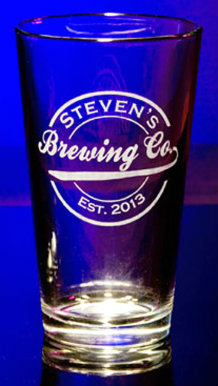 Personalized Brewing Company Pint Glass