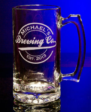 Personalized Brewing Company Tankard Mug - Extra Large