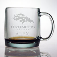 Personalized NFL Football Coffee Mug