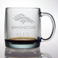 Personalized NFL Football Coffee Mug