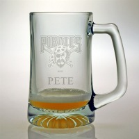 Personalized MLB Baseball Tankard Mug - Extra Large