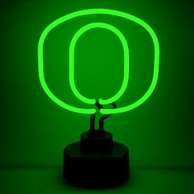 University of Oregon Neon Sign - Ducks