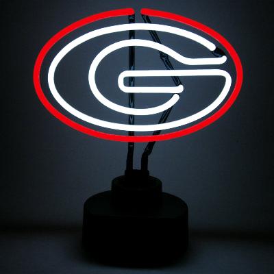 University of Georgia Neon Sign - Bulldogs