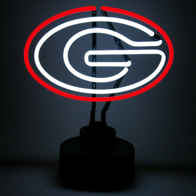 University of Georgia Neon Sign - Bulldogs