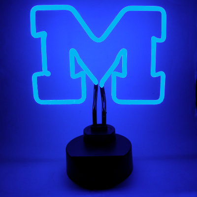 University Of Michigan Neon Sign Wolverines