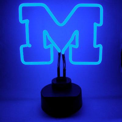 University of Michigan Neon Sign - Wolverines