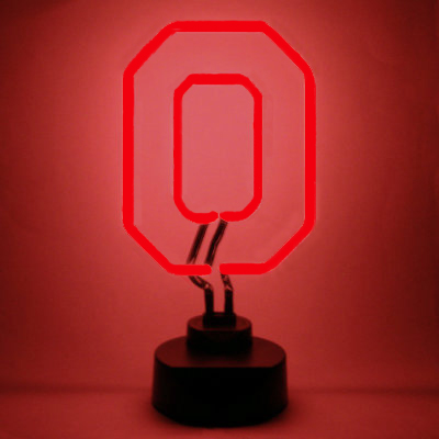 Ohio State University Neon Sign - Buckeyes