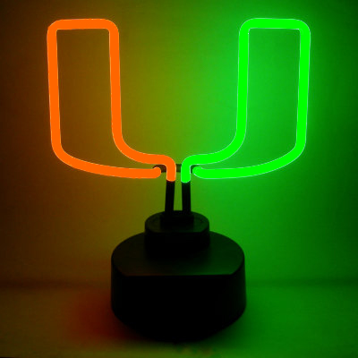 University of Miami Neon Sign - Hurricanes