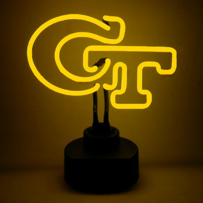 Georgia Tech Neon Sign - Yellow Jackets