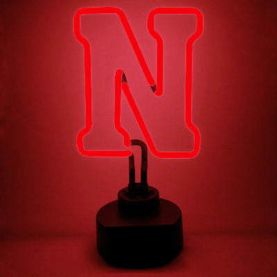 University of Nebraska Neon Sign - Cornhuskers