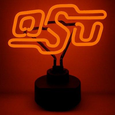 Oklahoma State University Neon Sign - Cowboys