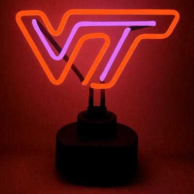 Virginia Tech University Neon Sign - Hokies
