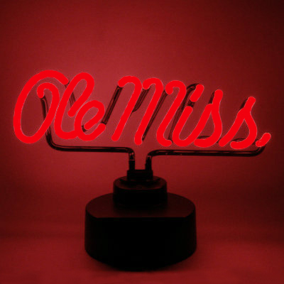Ole Miss Neon Sign - Rebels