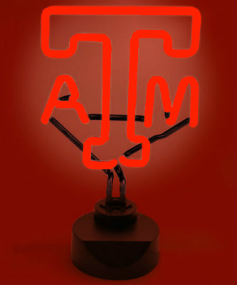 Texas A&M Neon Sign - Aggies